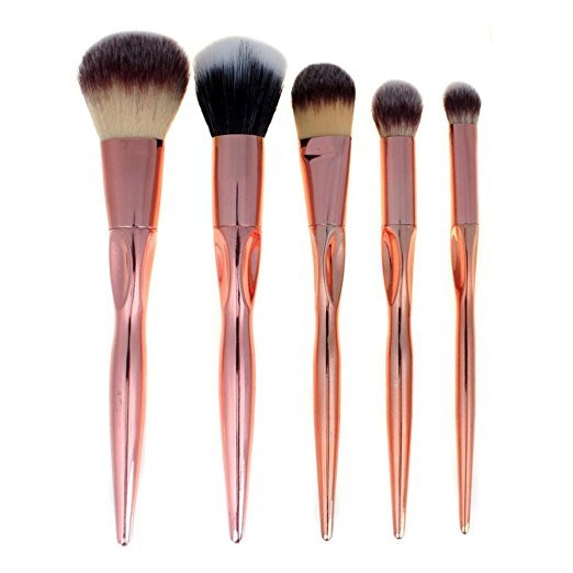 Metallic Love Rose Gold Brush Set (5pc)