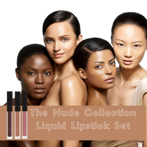 FAB2MATTE Liquid Lipstick Set- The Nudes Collection