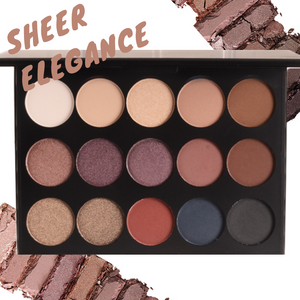 Sheer Elegance 15 Shade Eye Shadow Palette