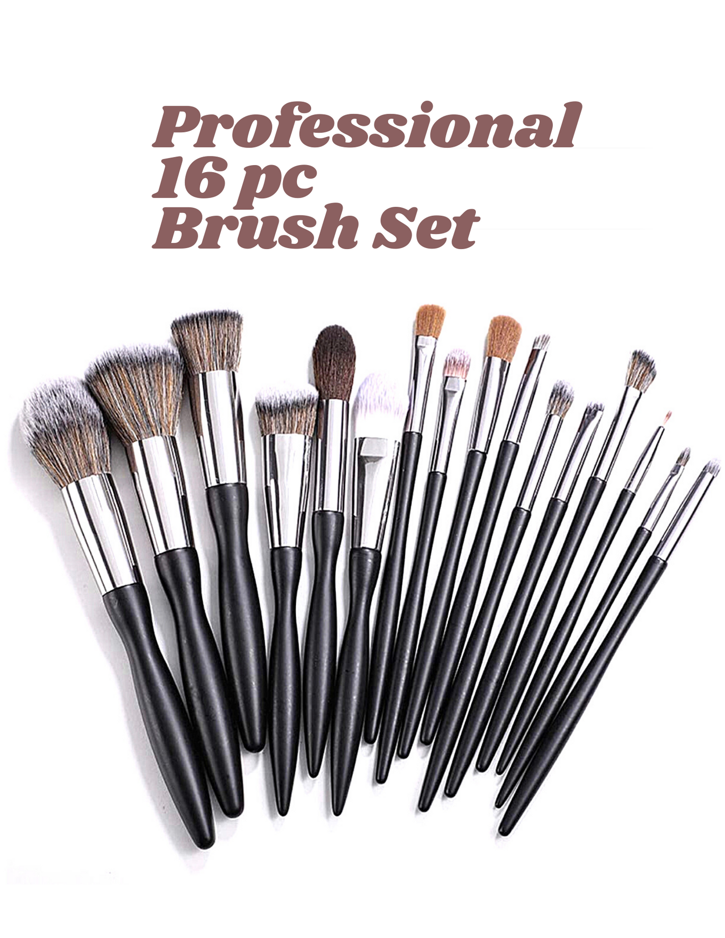 PROFESSIONAL 16PC BRUSH SET