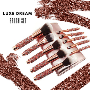 LUXE DREAM 10 PC BRUSH SET