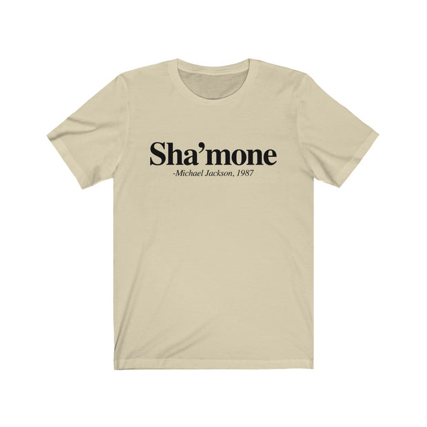 Shamone Unisex T shirt, Black Lives Matter T shirt, Black and Proud T shirt - Coils and Glory Shop