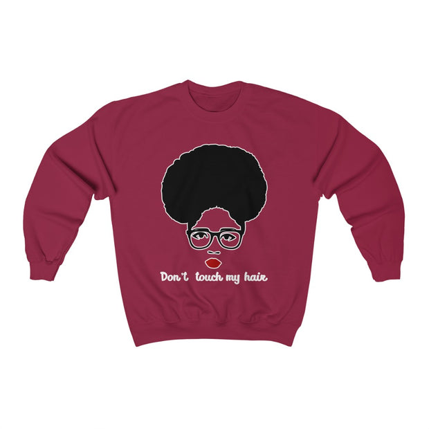 Afro Dont Touch My Hair Sweatshirt, Melanin Pride T shirt, Black Excellence T shirt - Coils and Glory Shop