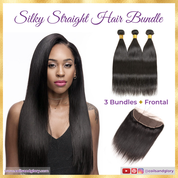 brazilian straight hair bundles with frontal
