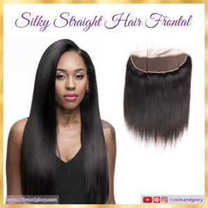 straight hair frontal