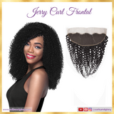 Jerry curl lace frontal