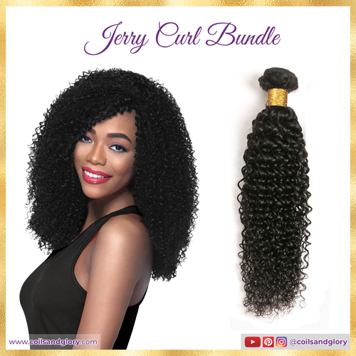 jerry curl bundle hair