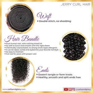 jerry curl bundles with closure