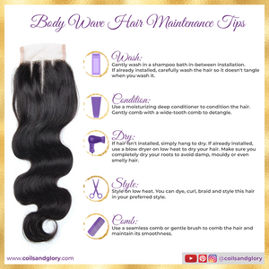body wave closure piece