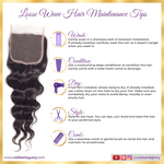 loose wave weave closure