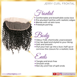jerry curl frontal