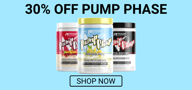 Pump Phase 30% Off
