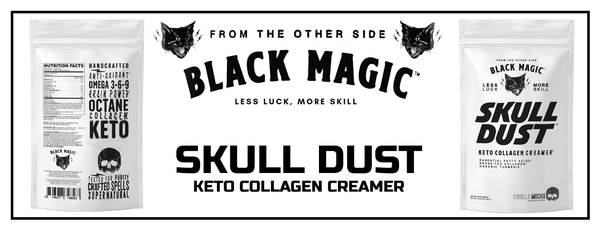 Black Magic Supply Skull Dust Banner