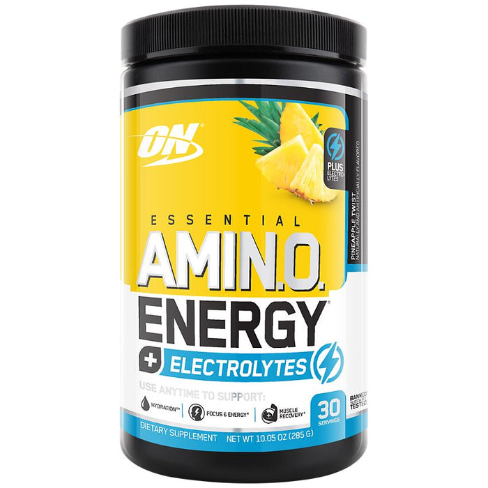 Optimum Nutrition Amino Energy + Electrolytes - Pineapple Twist - 30 Servings