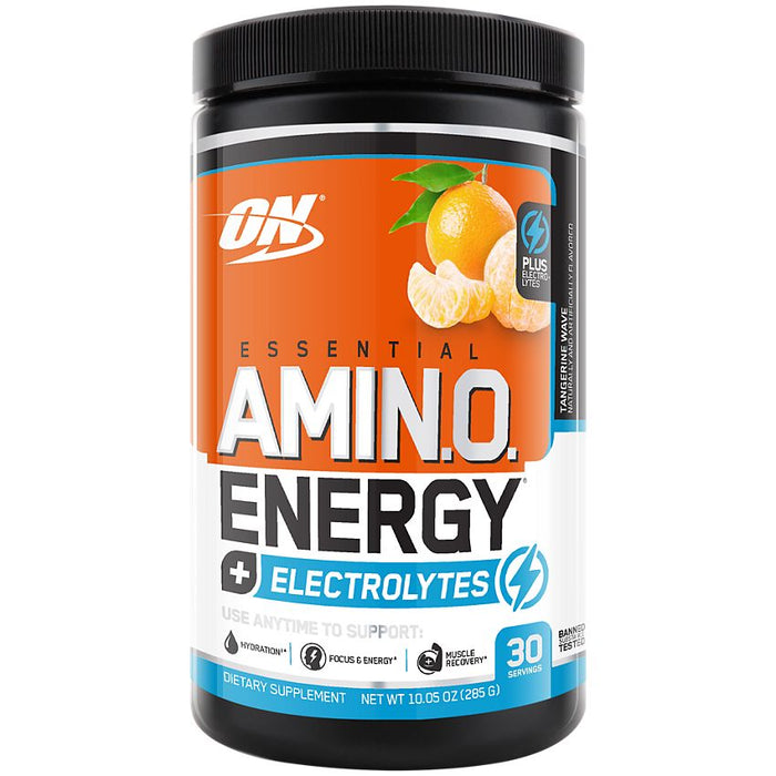 Optimum Nutrition Amino Energy + Electrolytes - Tangerine Wave - 30 Servings