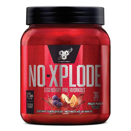 BSN N.O.-Xplode Pre-Workout-Fruit punch