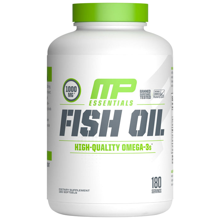 MusclePharm Fish Oil Softgels