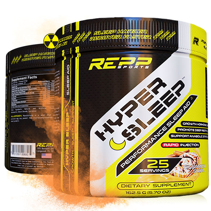 REPP Sports Hyper Sleep | Potent Sleep Aid and Nighttime Recovery