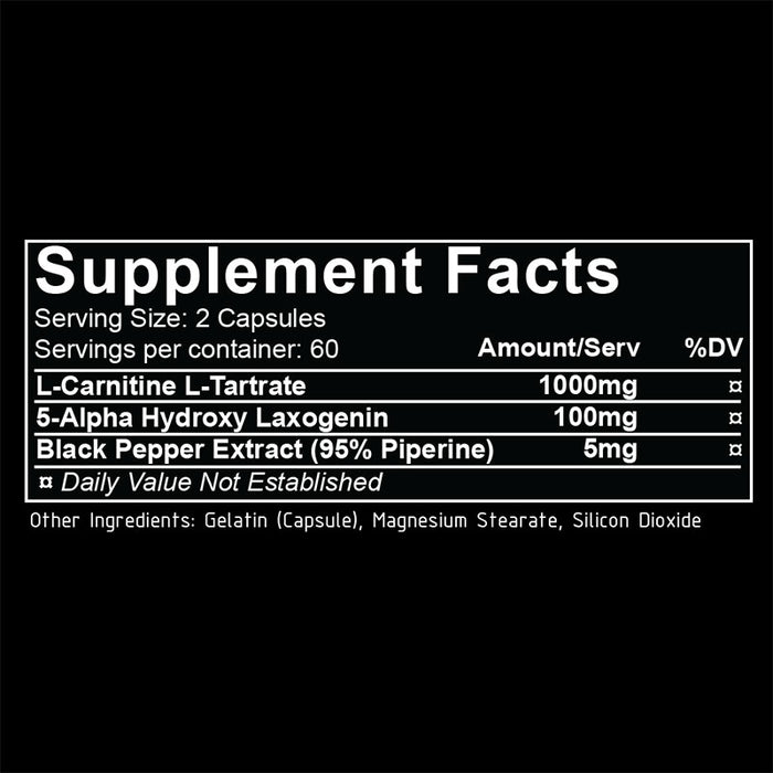 REPP Sports Laxogenin+ Supplement Facts