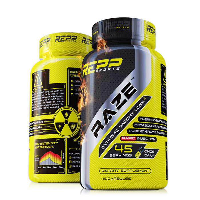 REPP Sports Raze Extreme Fat Burner Thermogenic