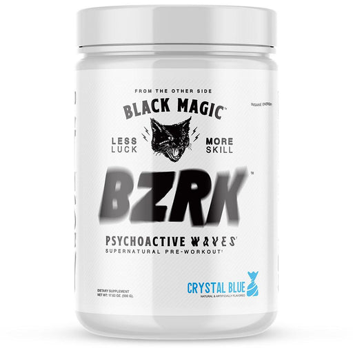 Black Magic Supply BZRK Pre-Workout - 25 Servings - Crystal Blue