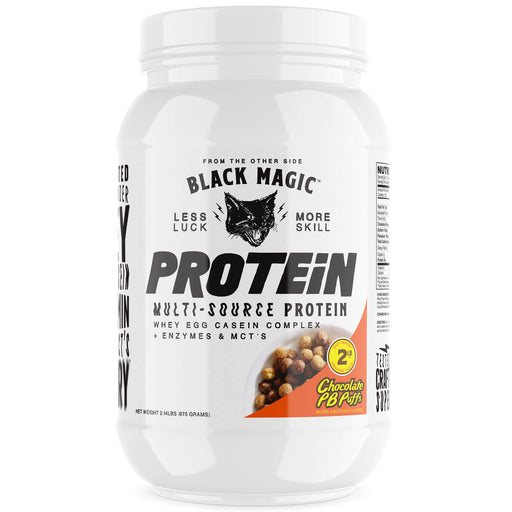 Black Magic Supply Multi-Source Protein Powder - Chocolate Peanut Butter 25 Servings