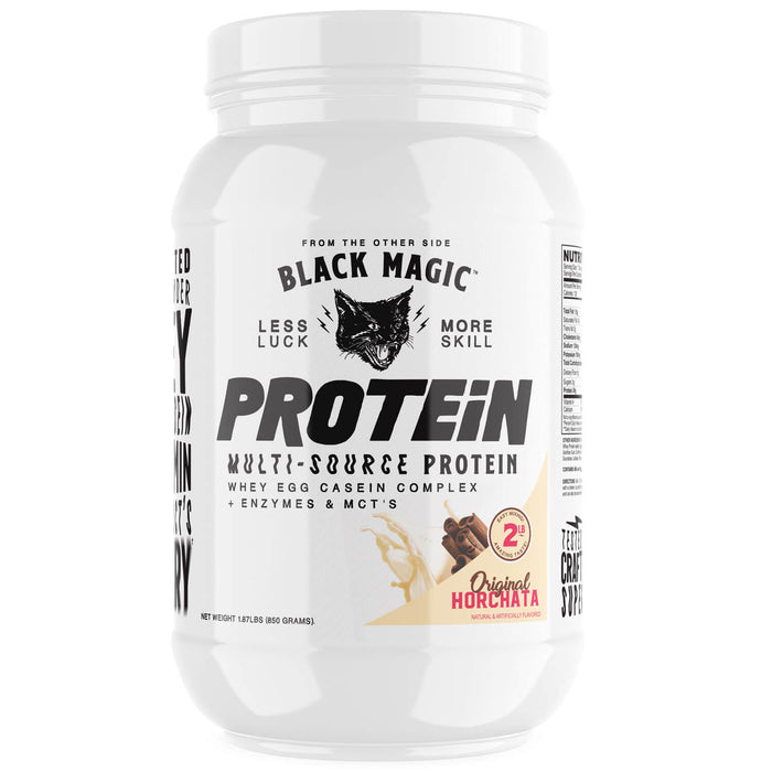 Horchata Flavored Multi Source Protein Powder by Black Magic Supplements - 25 Servings