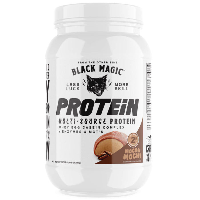 Mocha Flavored Multi Source Protein Powder - 25 Servings