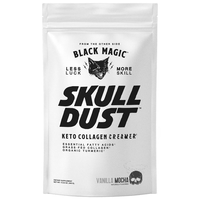 Black Magic Supply Skull Dust Keto Collagen Creamer - Vanilla Mocha