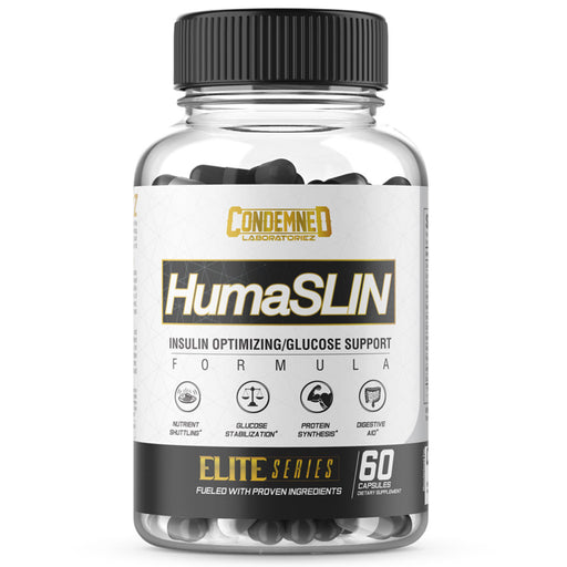 Condemned Labz HumaSlin Optimizing Glucose Support and Carb Digestion