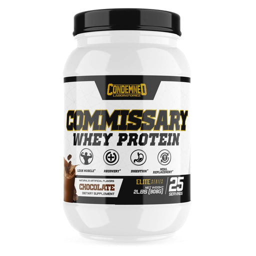 Condemned Labz Commissary Whey Protein Concentrate - Chocolate 25 Servings