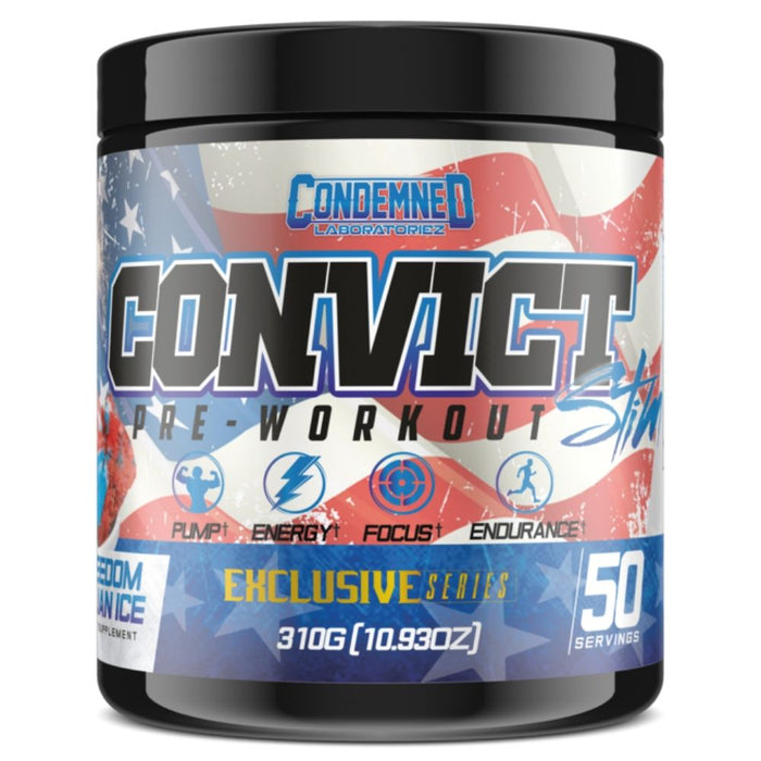 Condemned Labz Convict Freedom Ice Pre Workout