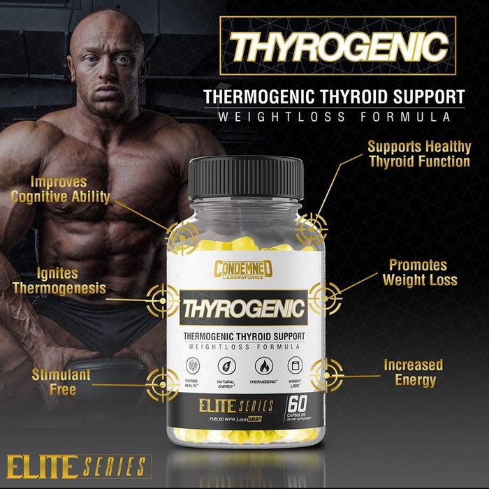 Condemned Labz Thyrogenic Fat Burner Thermogenic & Thyroid Support