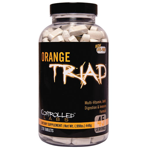 Controlled Labs Orange Triad Multivitamins