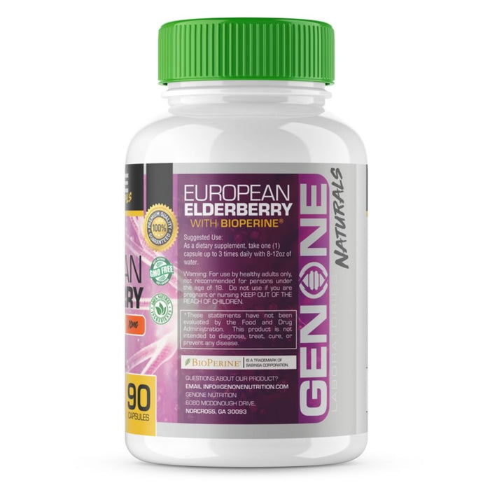 Gen One Laboratories European Elderberry With Bioperine