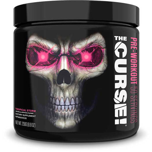 JNX Sports The Curse Advanced Pre Workout Supplement - Tropical Storm