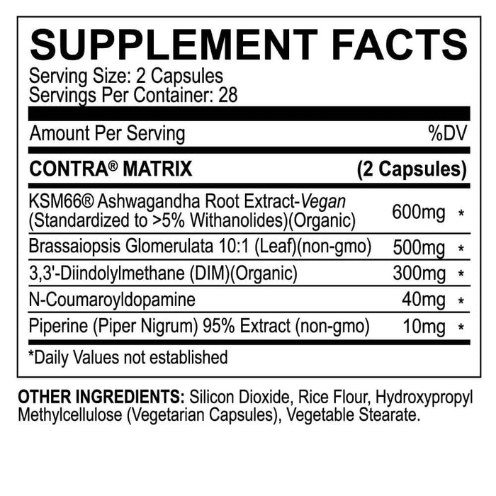 MyoBlox Blo 2.0 Supplement Facts