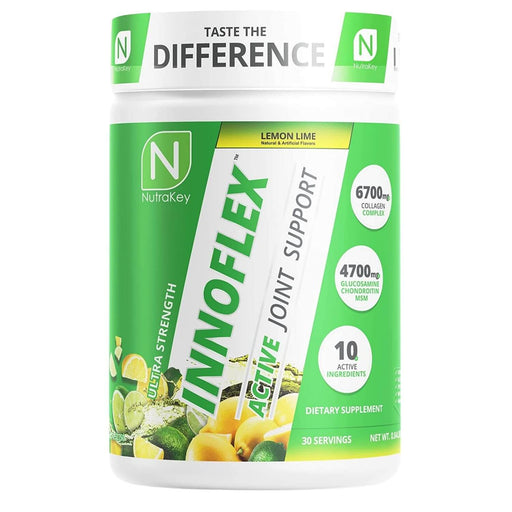 NutraKey Innoflex Ultimate Joint Support, 30 Servings - Lemon Lime