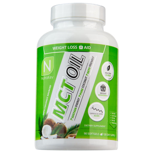 Nutrakey MCT Oil Softgels - Improve Fat Metabolism