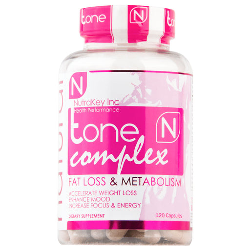 NutraKey Tone Complex Fat Loss & Metabolism - 120 Capsules