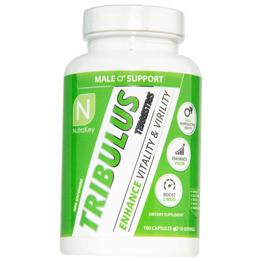 Nutrakey Tribulus Terrestris - Natural Testosterone Booster Support