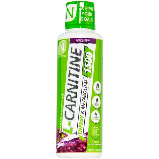 Nutrakey L-Carnitine 1500 - Grape Crush