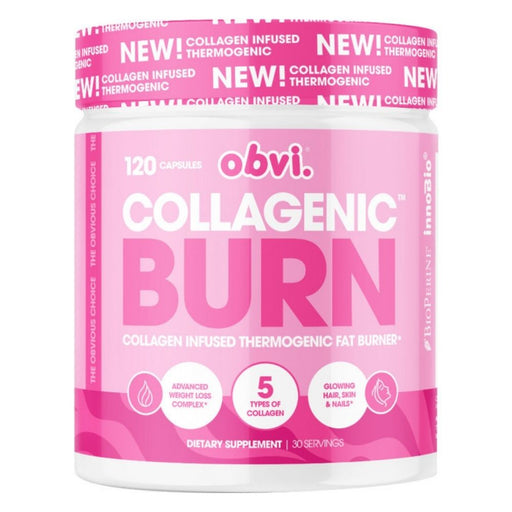 Obvi Collagenic Burn Thermogenic Fat Burner, 30 Servings