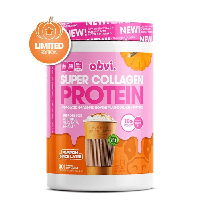 Obvi Super Collagen Protein, Pumpkin Spice Latte
