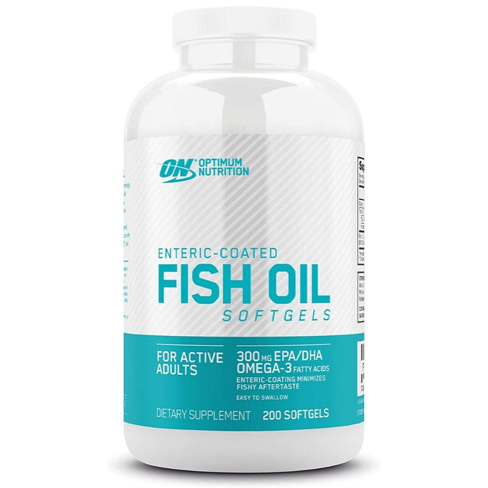 Optimum Nutrition Omega 3 Fish Oil, 200 Softgels