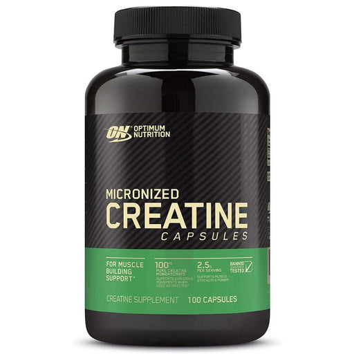 ON Micronized Creatine Capsules - 100 Count