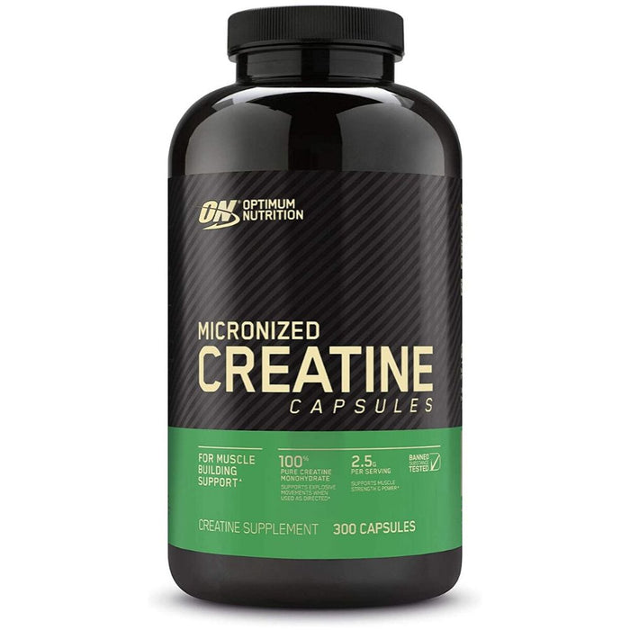 ON Micronized Creatine Capsules - 300 Count