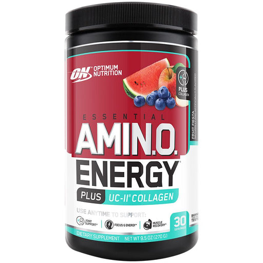 Optimum Nutrition Amino Energy Plus UC-II Collagen - Fruit Fiesta