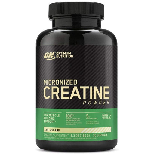 Optimum Nutrition Micronized Creatine Monohydrate Powder, 30 Servings