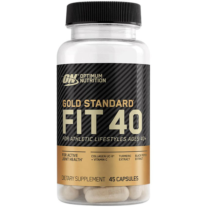 Gold Standard Fit 40 Collagen, Vitamin C & Turmeric - Supports Active Joint Health